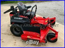 72 Zero Turn Lawn Mower, Gravely ProTurn 472 35HP Kawasaki, Demo Unit with10 Hours
