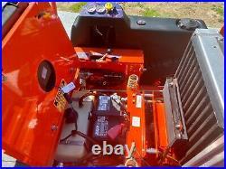 BAD BOY OUTLAW 72 CATERPILLAR DIESEL Zero Turn Mower! Nice
