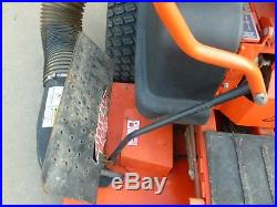 BAD BOY zero turn mower 32 HP 60 inch cut with bagger and mulcher kit LOW HOURS