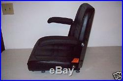 BLACK SEAT With ARM RESTS CUB CADET, DIXON, JOHN DEERE ZERO TURN LAWN MOWERS ZTR #KX