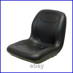 Black High Back Seat fits Bad Boy Mowers MZ MZ Magnum