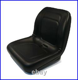 Black Seat for Terramite TSS38 Sweepers & Wacker RD11A, RD12A, RD12A-90 Rollers