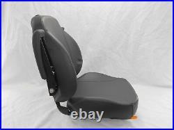 Black Ultra High Back Seat C1211 Fits Gravely, Dixon, Ztr Zero Turn Mowers #uhbb