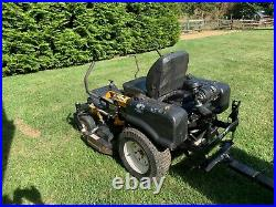 Cub Cadet M48 Tank Commercial Grade Zero Turn Mower w Bagging System and Trailer