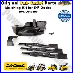 Cub Cadet Mulching Kit for 54 Deck for Zero Turn Lawn Mowers 19A30042100