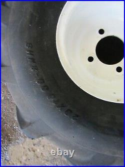 Cub Cadet RTZ54 Zero-Turn Mower Carlisle 20x10.00-8 Rear Tires & Rims Bar Lug