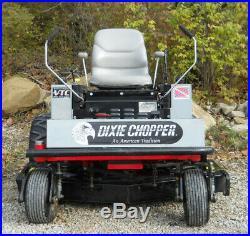 DIXIE CHOPPER XW2300 Zero Turn. 50 Mower Deck, 23hp. Kawasaki FH680V. Runs Grea