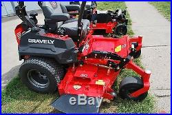 Excellent low houred Gravely 260 zero turn riding lawn mower, 27hp Kawasaki