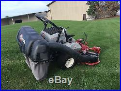 Exmark 60 ZTR Zero Turn Commercial Riding Lawn Mower With Triple Bagger 29 HP Kaw