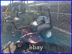 Exmark 72 Diesel Zero Turn Lazer Z Mower 1600 Hours
