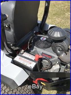 Exmark radius x series zero turn mower