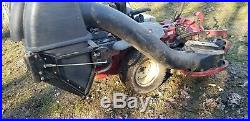 Exmark zero turn mower 60 with bagging system