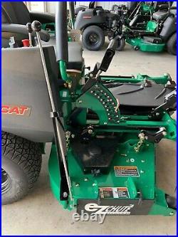 Ezchute ocdc discharge grass blocker flap chute for Bobcat zero turn mower