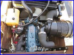 GRASSHOPPER 325D 61 Kubota Diesel Zero Turn Lawnmower Lawn Mower toro walker
