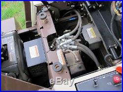 GRASSHOPPER 723K ZERO TURN MOWER With 52 POWERFOLD FRONT DECK. KOHLER. LOW HRS