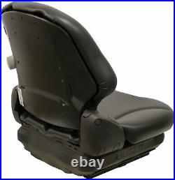 Grammer MSG65 Black Vinyl Seat Fits Scag Ztr Zero Turn Mowers Turf Tiger Etc