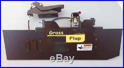 GrassFlap Zero Turn Lawn Mower Discharge Chute Blocker Mulch Kit