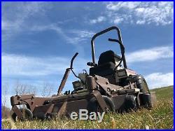 Grass Hopper Sit Down Riding Commercial 61 ZTR Zero Turn Lawn Mower 727K2 3461