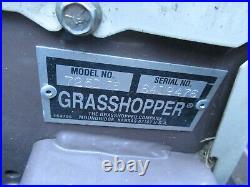 Grasshopper 2014 725DT6 T-DRIVE KUBOTA DIESEL WITH 72 POWERFOLD DECK ZTR