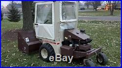 Grasshopper 721D (diesel), 61 Deck, Cab and Snow Thrower