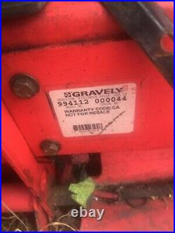 Gravely Pro-Stance 52 60 48 Parts Machine Commercial Stand On Zero Turn Mower