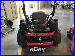 Gravely Pt460 60 Zero Turn Mower With 31hp Kawasaki