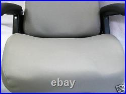 Gray High Back Seat Bunton, Bobcat, Dixie, Snapper, Toro, Exmark Zero Turn Mower #jd
