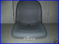 Gray Seat Hustler, Jacobsen, Toro, Dixie Chopper, Zero Turn, Front Mowers, Ztr #cg