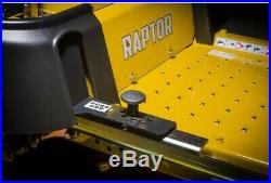 Hustler Raptor 18-HP V-twin Dual Hydrostatic 42-in Zero-turn Lawn Mower