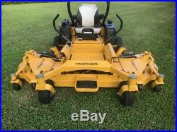 Hustler Super 104 Wide Area Mower Zero Turn Bat Wing Golf Course Field Bush Hog