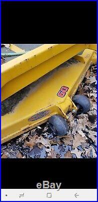 Hustler Super Z 60 Lawn Mower Deck XR7 Zero turn mowing deck 3 blades 60 inch