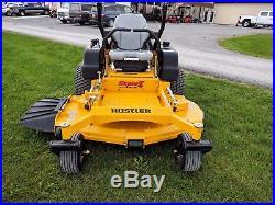 Hustler Super Z Zero Turn Mower Hyper Drive 37hp 61 Deck 107 Hours Commercial