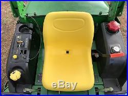 John Deere 997 Z Trak 7 Iron Mower Zero Turn Bob Cat Tractor Diesel Front Cut