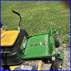 JOHN DEERE z335e ZTRAK Z 335 E Zero Turn Riding Tractor Mower LOW HOURS