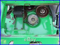 John Deere 997 Zero Turn 31hp Diesel 60 Rotary Mower Deck Side Discharge