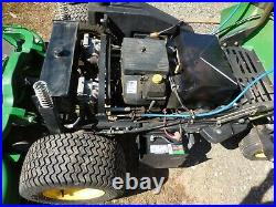 John Deere F687 Zero Turn Front Mower 60 Inch Deck Runs Needs Engine Work