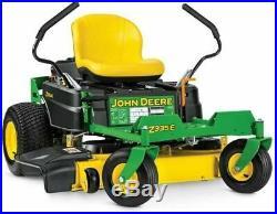 John Deere Z335E 20-HP V-Twin DualHydrostatic 42 Inch Zero Turn Mower