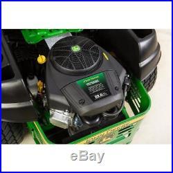 John Deere Z355E 22-HP V-twin Dual Hydrostatic 48-in Zero-turn lawn mower
