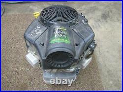 John Deere Z665 Zero-Turn Mower Briggs Stratton 44Q977 27hp Engine Runs 405 hr