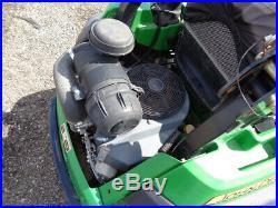 John Deere Z830A Zero Turn Mower, 60 inch deck, Kawasaki Gas, 1,211 Hours