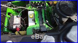John Deere Z920M Zero Turn Mower Lawn Mower Grass Gas 2013 60 inch deck