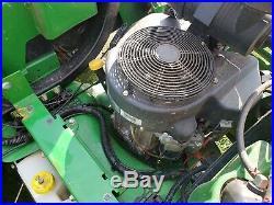 John Deere Z925A Zero Turn 24.5 hp. Kawasaki Gas 60 Rotary Mower