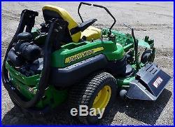 John Deere Z950A Z-Trak Zero Turn Mower 60 7 Iron Deck 31 Hp Kawasaki Engine