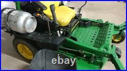 John Deere ZTRAK Zero Turn Riding Lawn Mower 72-in Deck Propane Newly Tuned Up
