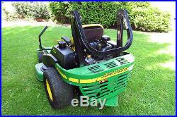 John deere z trak 737 commercial zero turn mower with 898 hours