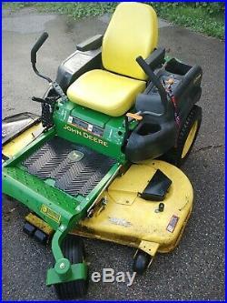John deere zero turn mower