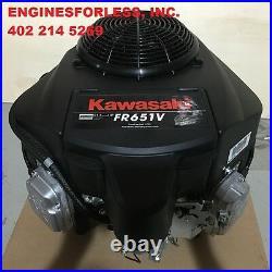KAWASAKI FR651V-DS09-R 726cc engine for Lawn Tractor & Zero-Turn mowers