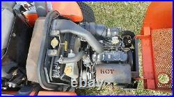 Kubota 48 DIESEL ZD221(ZD1011) Commercial Hydraulic Deck Lift Zero Turn Mower