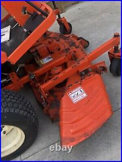 Kubota FZ2100 Diesel Zero Turn Lawn Mower With Grass Catcher 60 Inch