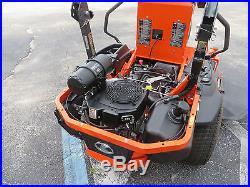 Kubota Z724 Zero Turn 24 hp. Kohler Gas 54 Rotary Mower 53 hrs